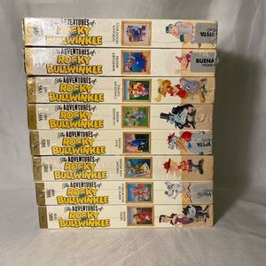 Adventures of Rocky&Bullwinkle VHS 1-8